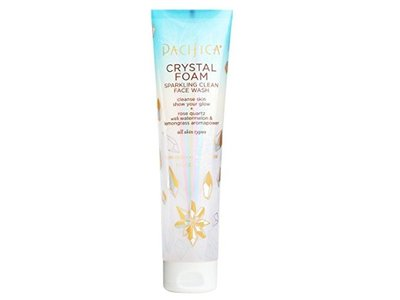 Pacifica Crystal Foam Sparkling Clean Face Wash 5 Ounce