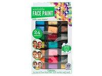 Horizon Group Face Paint Washable Paint Color Value Pack, 24 Jars - Image 2