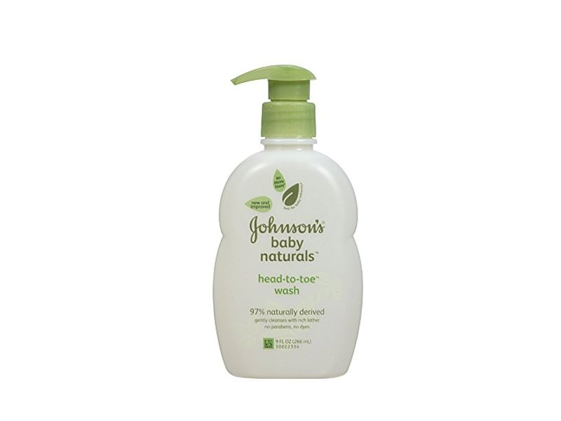 Johnson's Baby Natural Head-to-Toe Wash, 9 oz