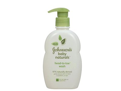 Johnson's Baby Natural Head-to-Toe Wash, 9 oz - Image 1