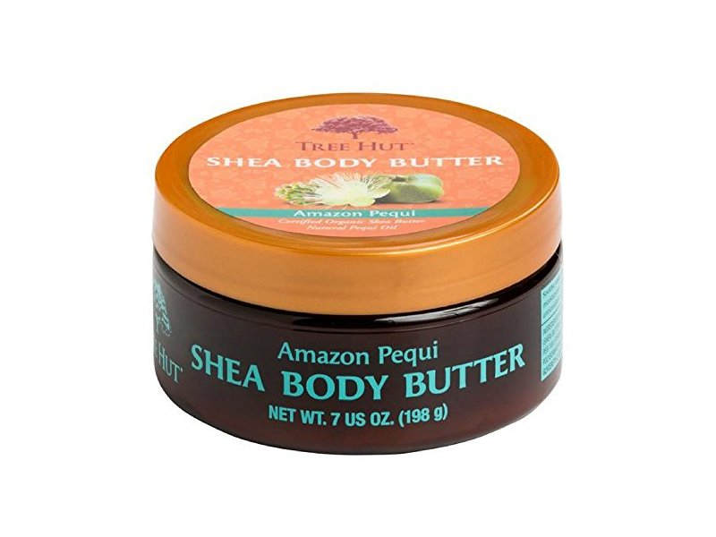 Tree Hut Shea Body Butter, Amazon Pequi 7 oz (Pack of 4)