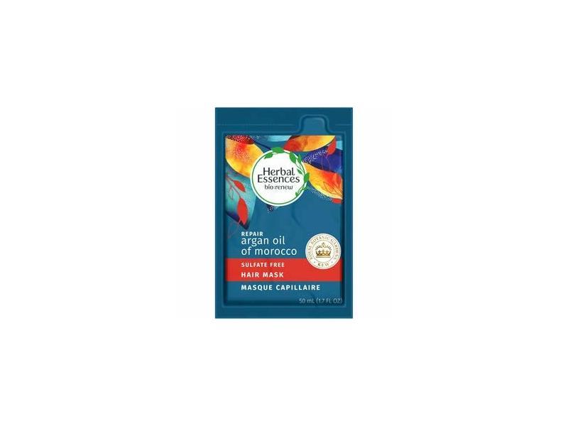 Herbal Essences Argan Oil Repairing Hair Mask, 1.7 fl oz/50 ml