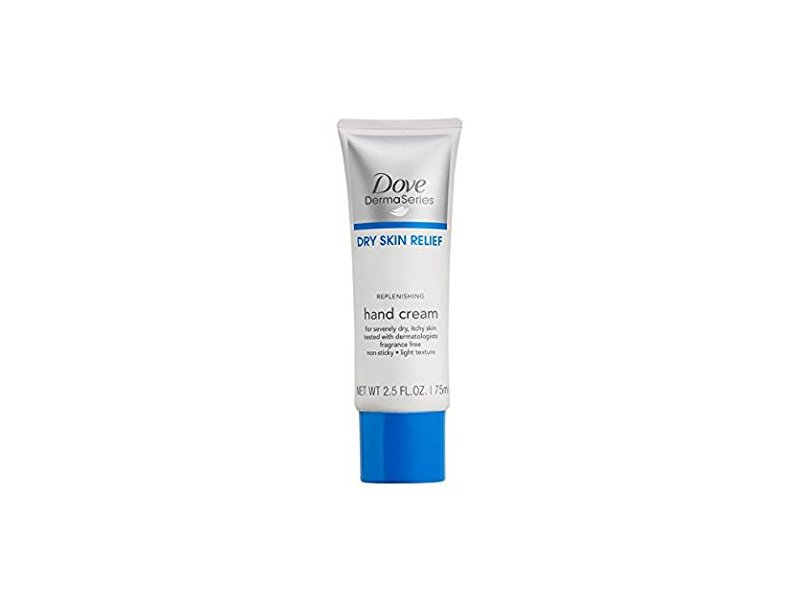 Dove DermaSeries Dry Skin Relief Replenishing Hand Cream, 2.5 fl oz