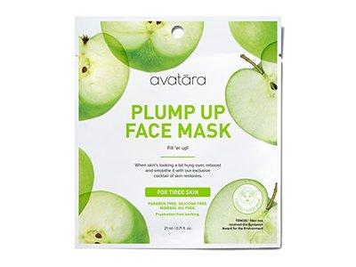 Avatara Plump It Up Face Sheet Mask for Tired Skin, 0.71 Fluid Ounce