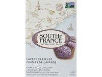 SOUTH OF FRANCE Lavender Fields Bar Soap, 0.02 Pound - Image 2