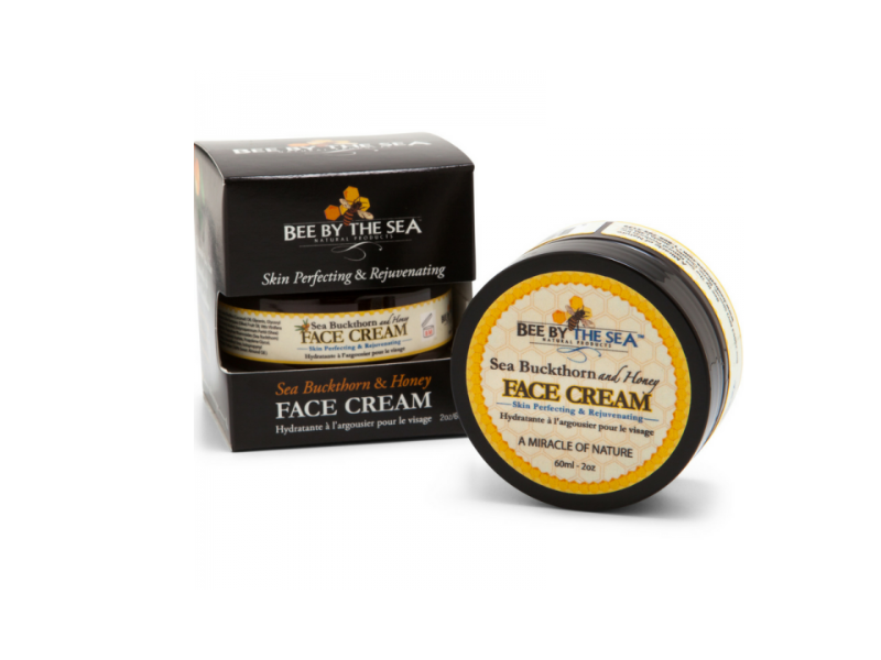Bee By The Sea Natural Products Face Cream, Sea Buckthorn And Honey, 2 oz