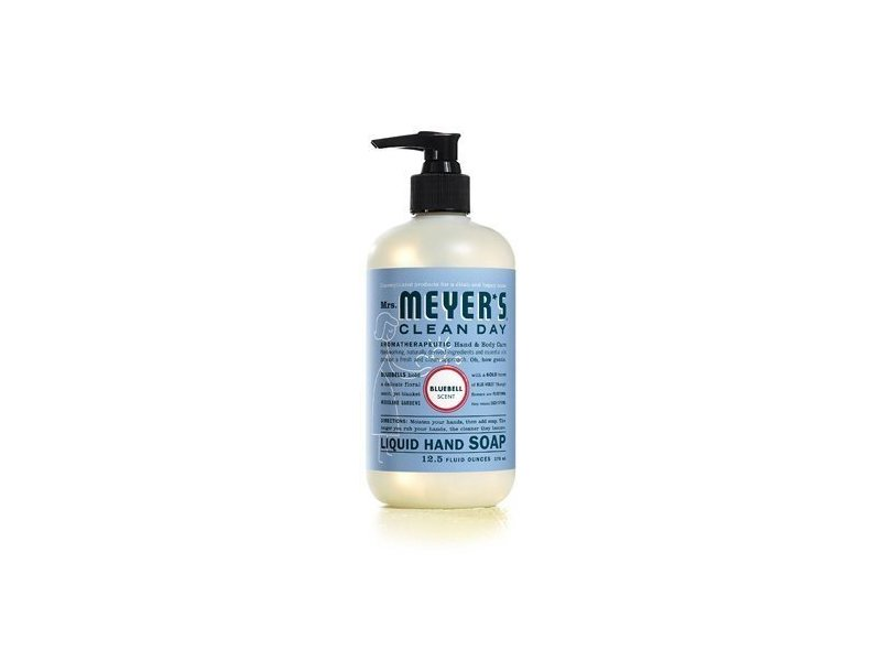 Mrs. Meyers Clean Day Liquid Hand Soap Hard, Bluebell Scent, 12.5 Oz