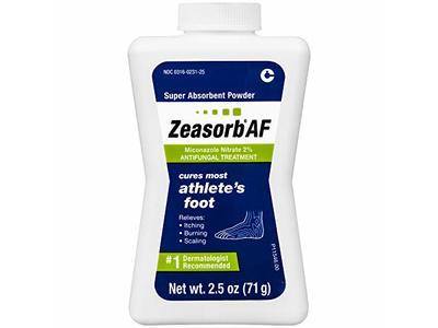Zeasorb Athlete's Foot, 2.5 Ounce