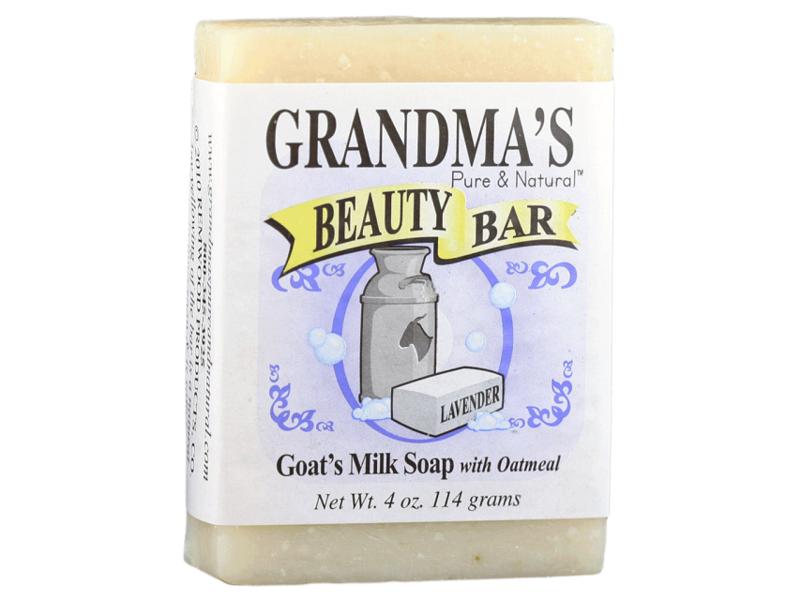 Grandma's Pure & Natural Beauty Bar, Lavender, 4 oz
