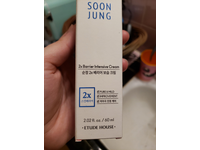 Etude House Soon Jung 2x Barrier Intensive Cream, 2.02 fl oz - Image 3