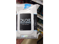 DUDE Face Wipes On-the-Go, 30 Wipes - Image 6