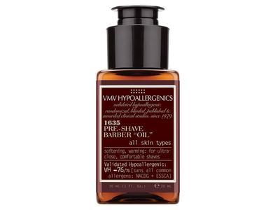 VMV Hypoallergenics 1635 Pre-Shave Barber Oil, 1 fl oz