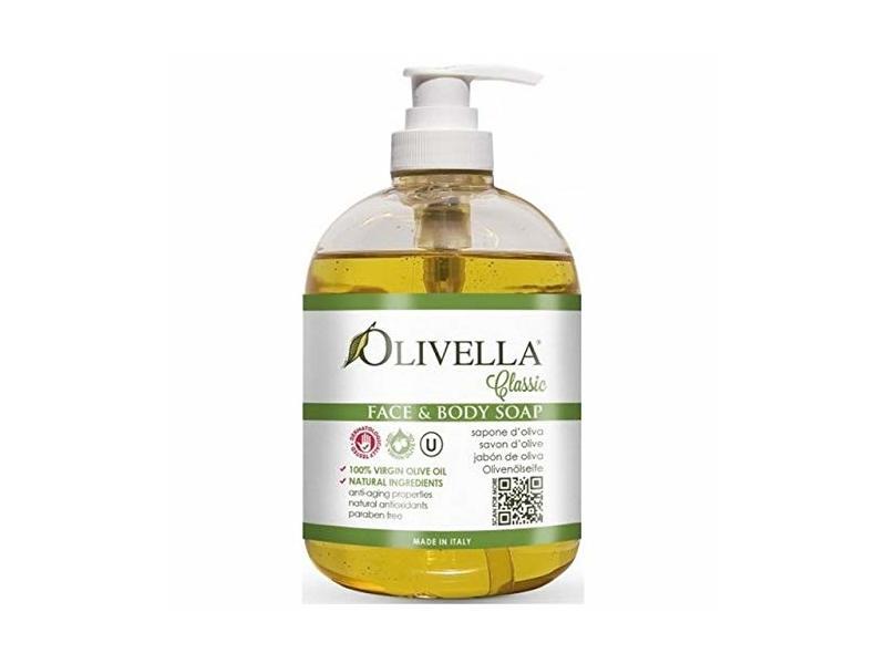 Olivella Face & Body Liquid Soap Pump