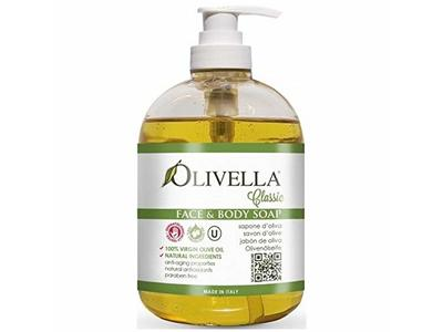 Olivella Face & Body Liquid Soap Pump