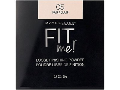 Maybelline Fit Me Loose Finishing Powder, 05 Fair, 0.7 oz