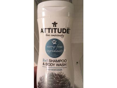 Attitude 2-in-1 Shampoo and Body Wash, 12 fl oz - Image 3