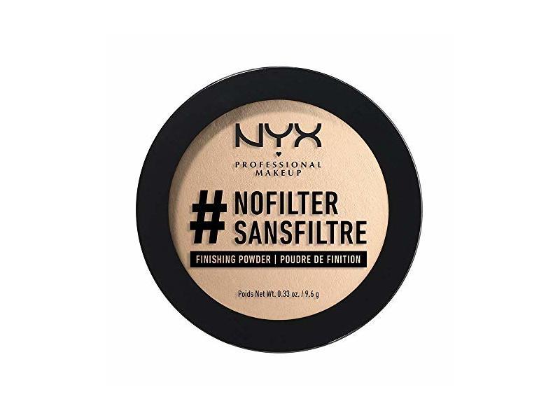 NYX Professional #Nofilter Finishing Powder, Light Beige 0.33 oz/9.6 g