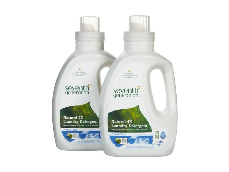 Seventh Generation Laundry Detergent, Free & Clear