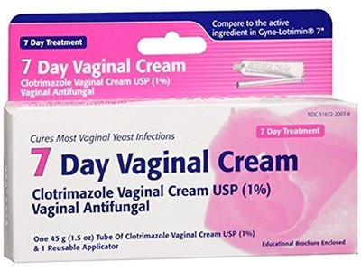 Taro Clotrimazole 7 Vaginal Cream, 45 g