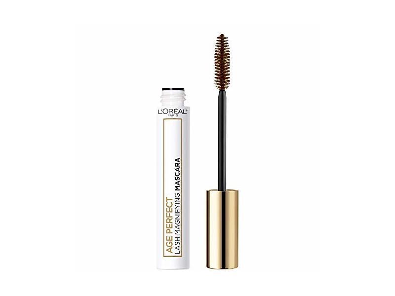 L'oreal Paris Age Perfect Lash Magnifying Mascara, 102 Brown, 0.28 fl oz/8.4 mL