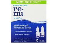 Bausch & Lomb ReNu MultiPlus Lubricating & Rewetting Drops, 0.27-Ounce - Image 1