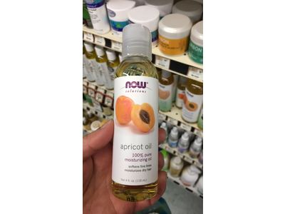 Now Solutions Apricot Oil, 4 fl oz - Image 3