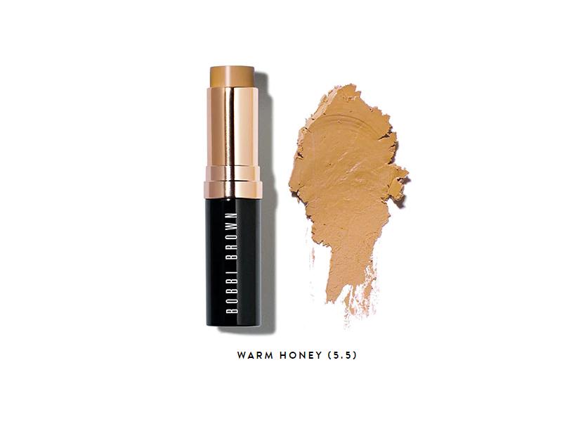 Bobbi Brown Skin Foundation Stick, Warm Honey, .31 oz