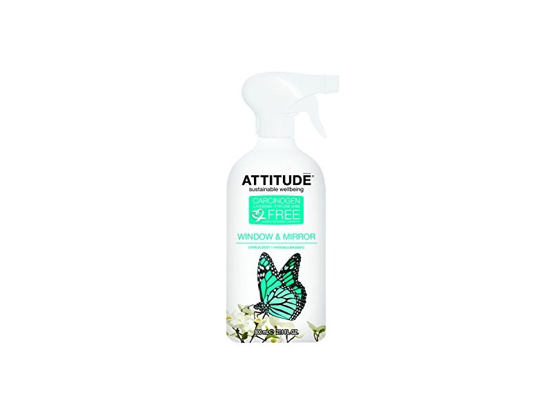 Attitude Window & Mirror Cleaner, 27.1-Ounce Bottles (Pack of 6)