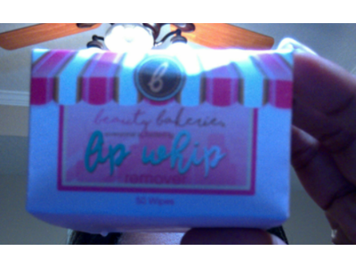 Beauty Bakerie Lip Whip Remover, Liquid Lipstick Color Removal, 50 ct - Image 3