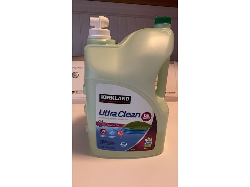 Kirkland Ultra CleanPremium Laundry Detergent - Lavender