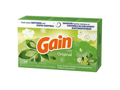 Gain Dryer Sheets, Original Scent, 120 count - Image 3