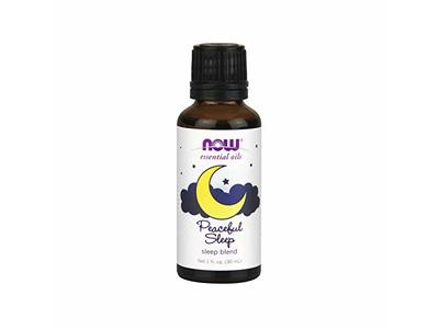 NOW Essential Oils, Peaceful Sleep Oil Blend, Relaxing Aromatherapy Scent 1-Ounce