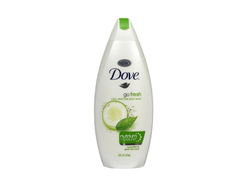 Dove Go Fresh Body Wash Cucumber Green Tea 16 Oz Ingredients And Reviews