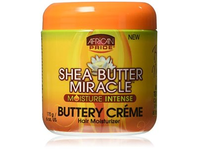 African Pride Shea Miracle Buttery Creme, 6 oz