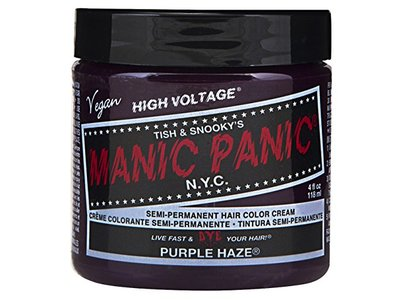 Manic Panic Semi-Permament Haircolor Purple Haze, 4oz