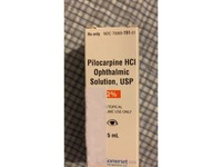 Pilocarpine HCl Ophthalmic Solution, USP 2% (RX), 15 mL Somerset Therapeutics, LLC - Image 3