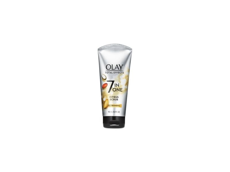 Olay Total Effects Refreshing Citrus Scrub Facial Cleanser