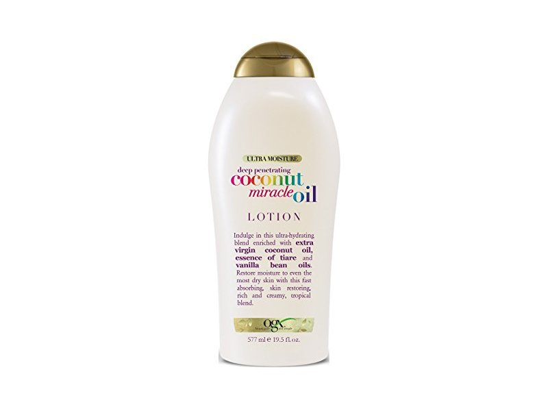 Ogx Body Lotion Coconut Oil Miracle, 19 5 Ounce Ingredients