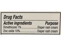 A&D Zinc Oxide Diaper Cream, 4 oz/113 g - Image 5