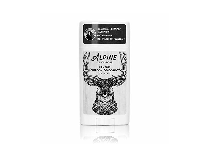 Alpine Provisions Charcoal Deodorant, Fir + Sage