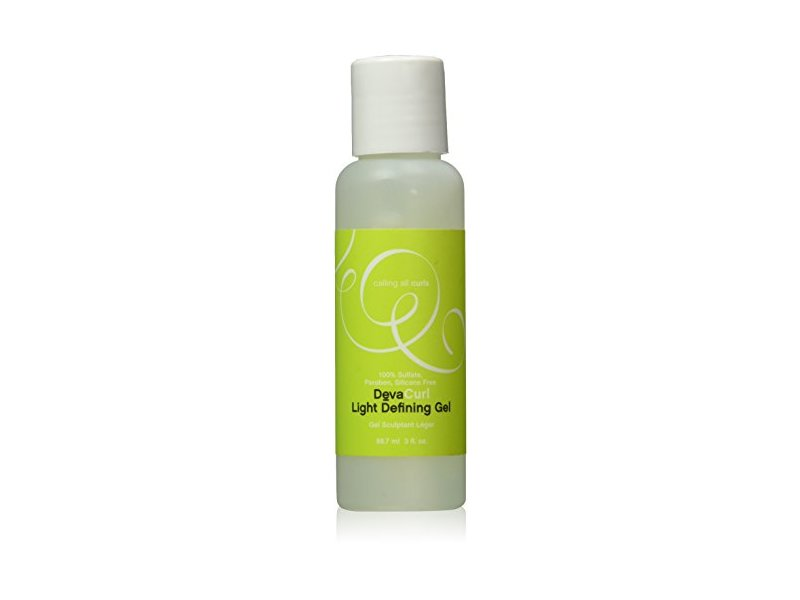 DevaCurl Light Moisturizing and Defining Gel, 3 Fluid Ounce