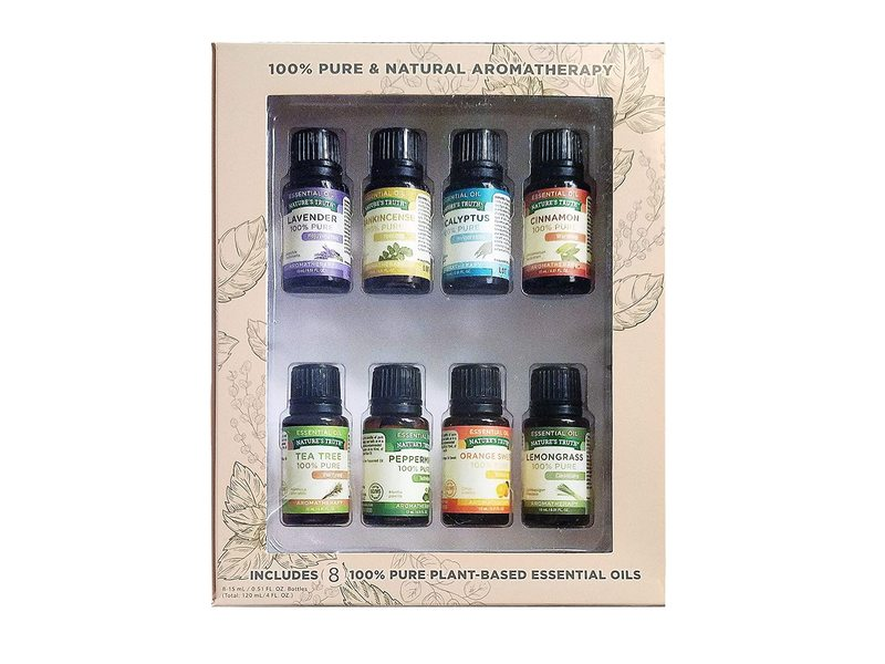 Nature's Truth Pure And Natural Aromatherapy, 8 pc