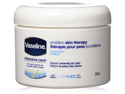 VASELINE Problem Skin Therapy Unscented Moisturizer Cream, 220 ml - Image 1