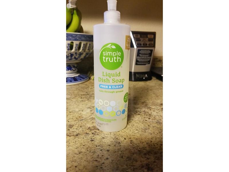 Simple Truth Liquid Dish Soap Free & Clear