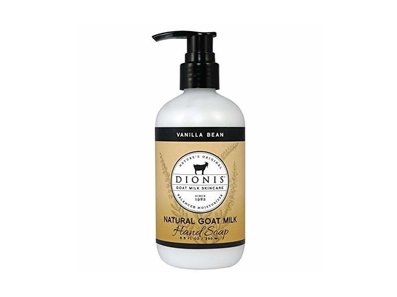 Dionis Goat Milk Skincare Hand Soap, Vanilla Bean, 8.5 fl oz