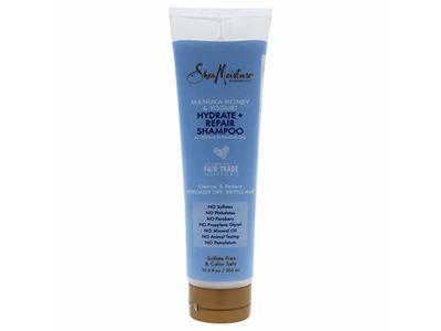 SheaMoisture Hydrate + Repair Shampoo, Manuka Honey & Yogurt, 10.3 fl oz - Image 1