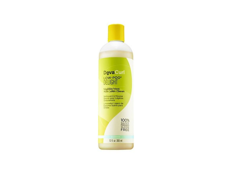 DevaCurl Low-Poo Delight Mild Lather Cleanser, 12 oz