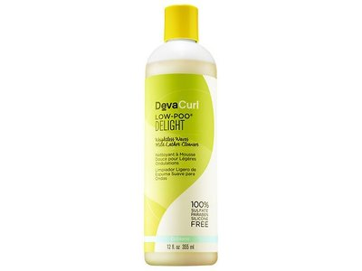 DevaCurl Low-Poo Delight Mild Lather Cleanser, 12 oz - Image 1