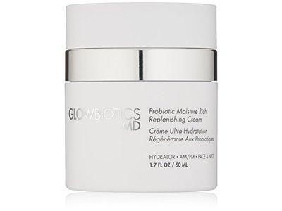 Glowbiotics MD Probiotic Moisture Rich Replenishing Cream, 1.7 Fl Oz