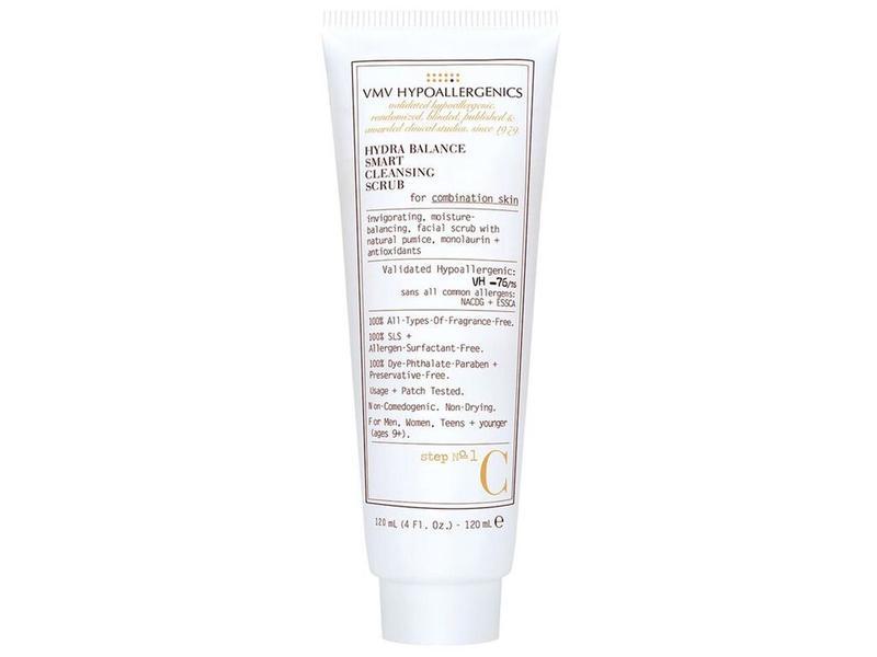 VMV Hypoallergenics Hydra Balance Smart Cleansing Scrub for Combination Skin, 4 fl oz